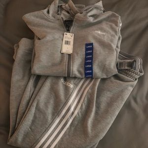 Adidas Jogger Set in Grey